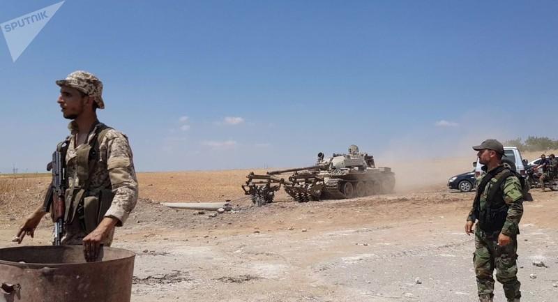 Chính phủ Syria tấn công Idlib, kiểm soát một điểm nóng - ảnh 1