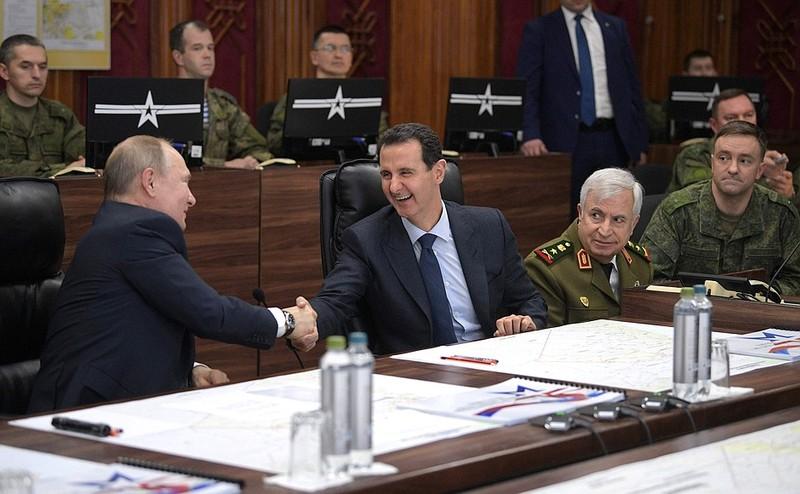Tổng thống Putin nói ông al-Assad nên mời ông Trump tới Syria - ảnh 1