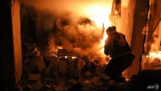 Bị cáo buộc ném bom chết 10 người ở Idlib-Syria, Nga nói gì? - ảnh 1