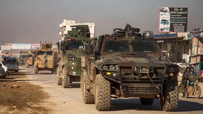 200 xe quân sự Thổ Nhĩ Kỳ vượt biên giới tiến vào Syria - ảnh 1