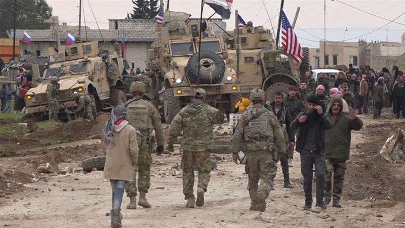 Quân Mỹ và Syria đụng độ ở đông bắc Syria, 1 người chết - ảnh 1