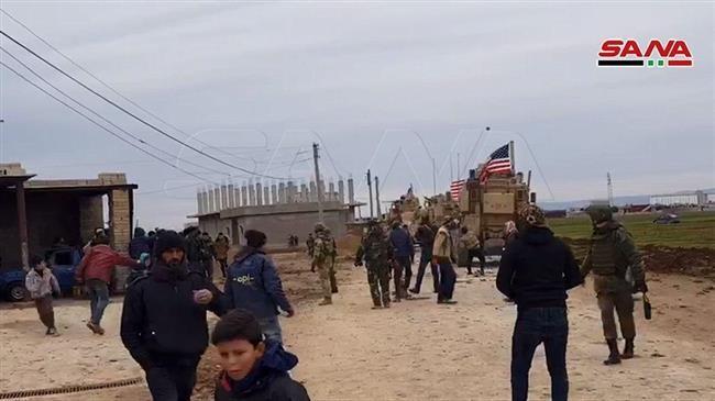 Quân Mỹ và Syria đụng độ ở đông bắc Syria, 1 người chết - ảnh 2