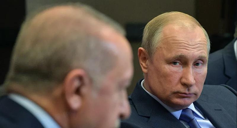 Ông Erdogan nói ông Putin tránh đường, để Ankara đối mặt Syria - ảnh 1