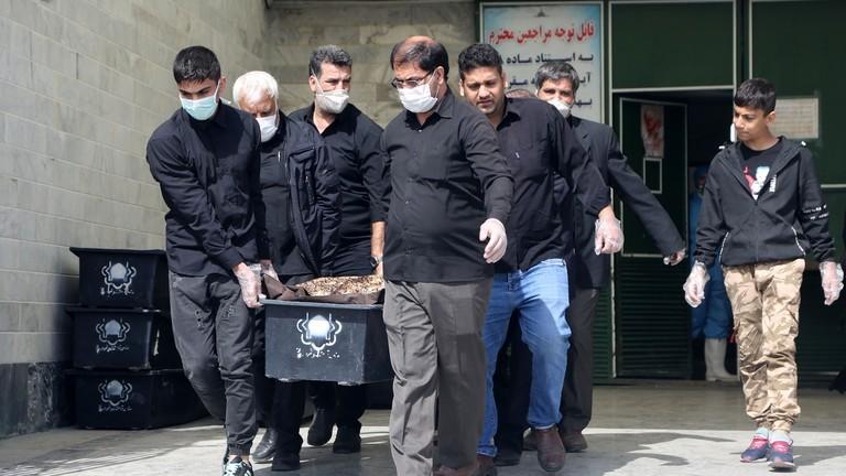 COVID-19 Iran:10 phút có 1 người chết, 1 giờ có 50 người nhiễm - ảnh 1
