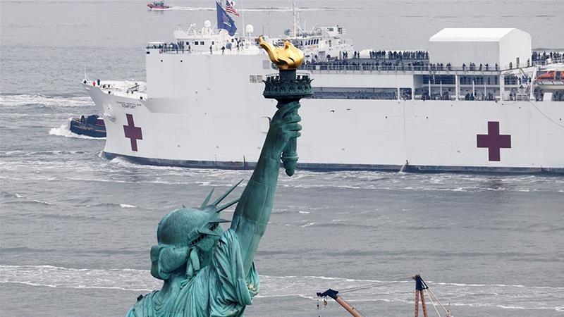 Hơn 1.200 người chết vì COVID-19, thống đốc New York cầu cứu  - ảnh 2