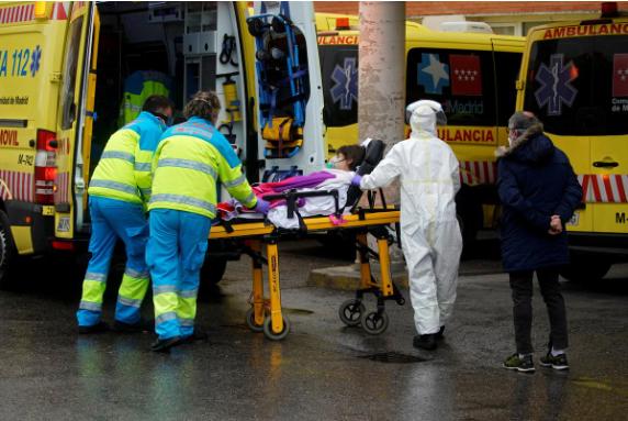 COVID-19 Tây Ban Nha:Ca nhiễm cao thứ 3, ca tử vong cao thứ 2  - ảnh 1