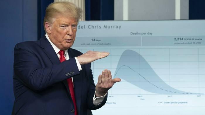 COVID-19 Mỹ: Ông Trump cảnh báo '2 tuần rất đau thương'  - ảnh 1