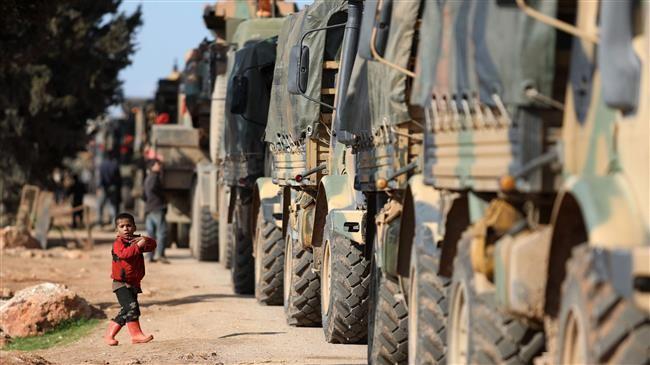 Thổ Nhĩ Kỳ bất ngờ điều 35 xe quân sự vào tỉnh Idlib của Syria - ảnh 1