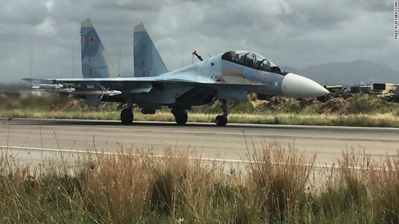 Su-35 Nga chặn trinh sát cơ Mỹ ở Địa Trung Hải - ảnh 1