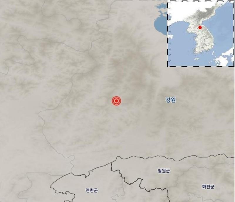 Động đất ở Triều Tiên - ảnh 1