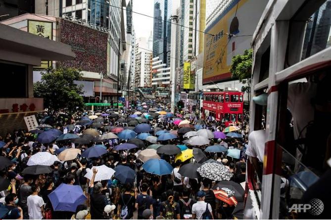 Trung Quốc dọa đáp trả Mỹ vụ luật an ninh Hong Kong - ảnh 1