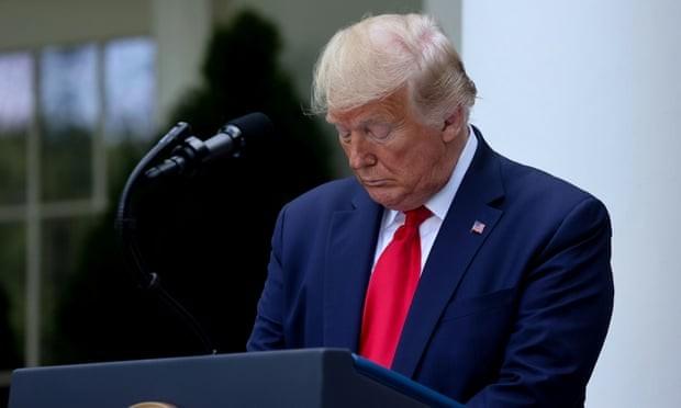 Ông Trump chia buồn 100.000 người chết vì COVID-19 tại Mỹ - ảnh 1