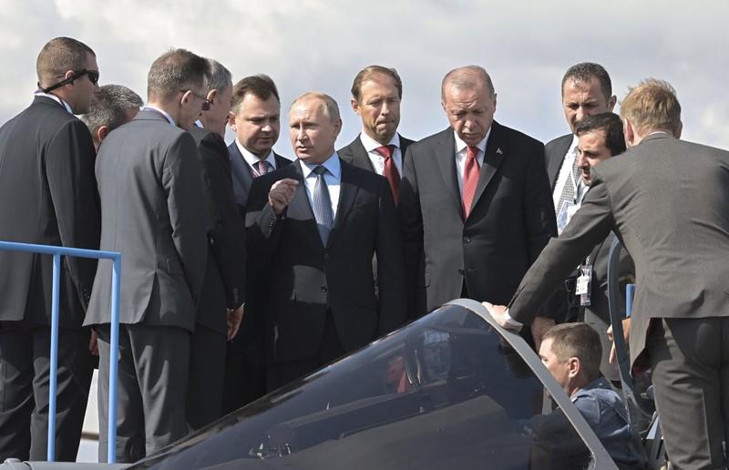 Tiêm kích TF-X Thổ Nhĩ Kỳ có thể thành đối thủ của Su-57 Nga - ảnh 2