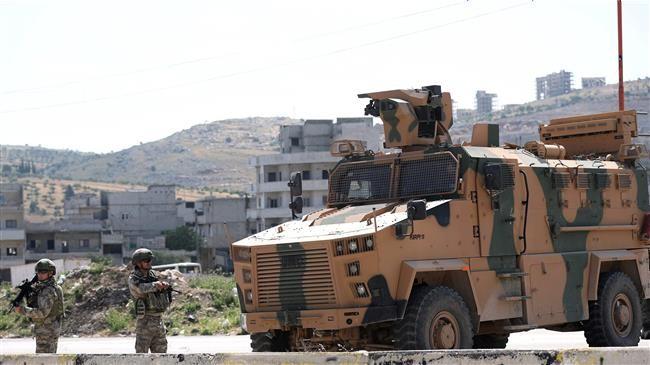 Gần 40 xe quân sự Thổ Nhĩ Kỳ tiến vào Đông Bắc Syria - ảnh 1
