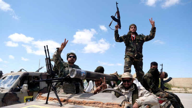 Ông Haftar đưa lính đánh thuê tới nơi nguy hiểm nhất Libya - ảnh 3