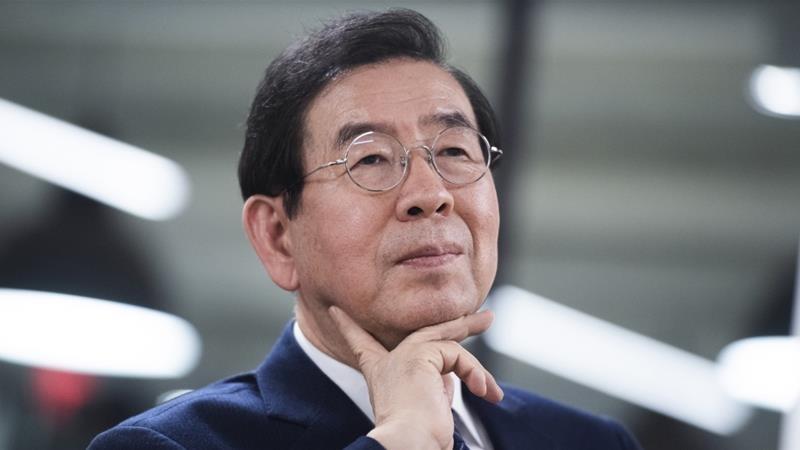 Tìm thấy thi thể thị trưởng Seoul sau nhiều giờ mất tích - ảnh 1