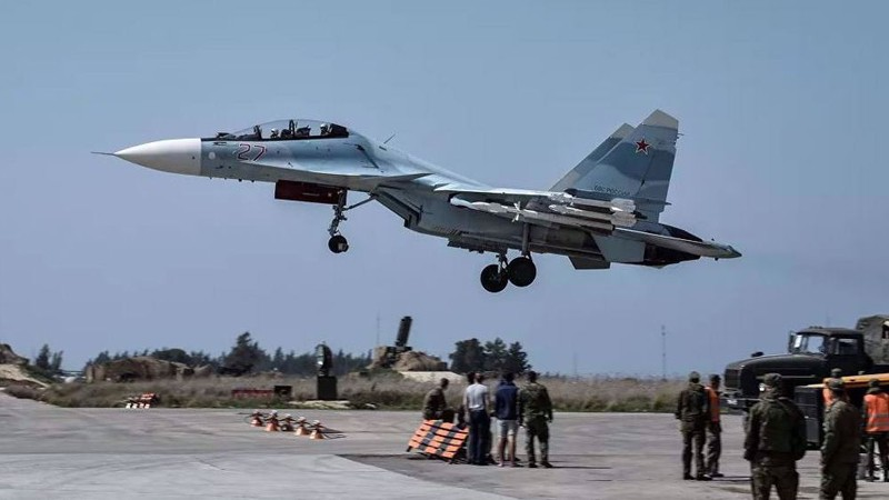 Phòng không Nga phá hủy UAV áp sát căn cứ ở Syria - ảnh 1