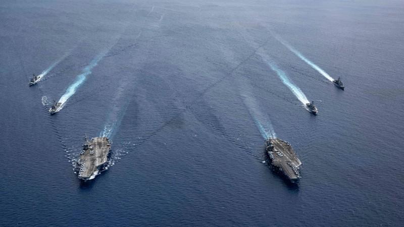 Mỹ ra tuyên bố bác yêu sách của Trung Quốc ở Biển Đông - ảnh 1