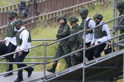 Bà Thái Anh Văn: Đài Loan sẽ không khuất phục Trung Quốc - ảnh 1