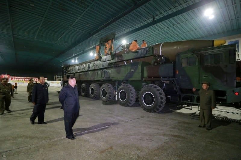 Triều Tiên có 3 tên lửa có thể qua mặt hệ thống phòng không Mỹ - ảnh 1
