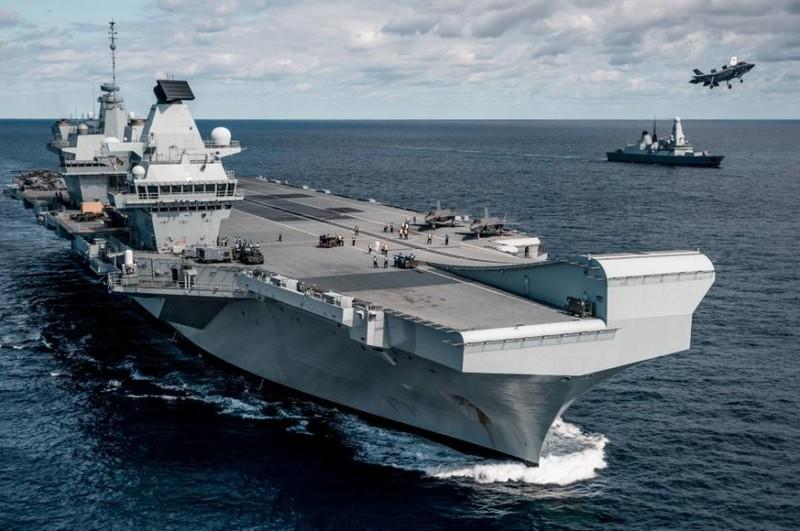 Trung Quốc yêu cầu Anh không đưa tàu sân bay tới Đông Á - ảnh 1