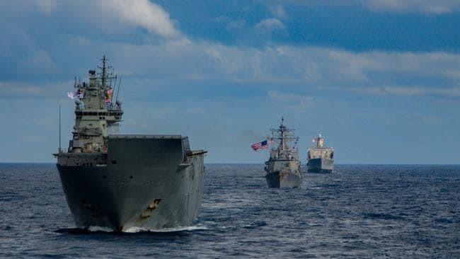 Tàu chiến Úc chạm mặt hải quân Trung Quốc ở Trường Sa - ảnh 1