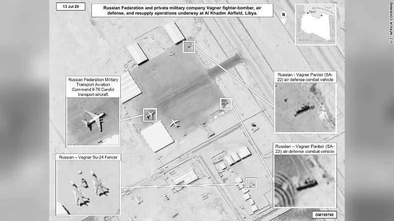 Nga đưa vũ khí tới Libya, Mỹ lo ngại - ảnh 1