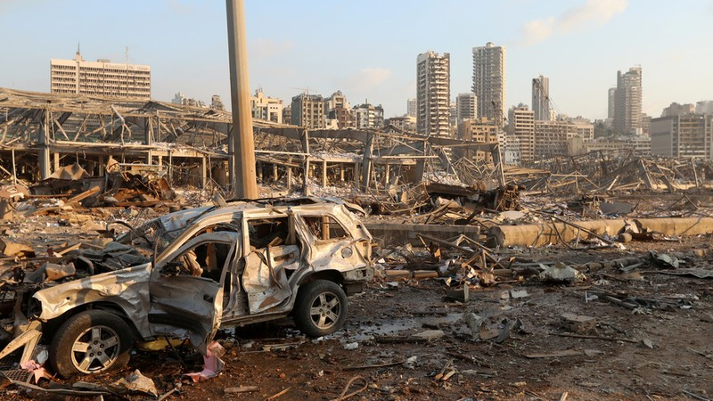 Nổ ở Lebanon: Người chết khắp nơi - ảnh 4