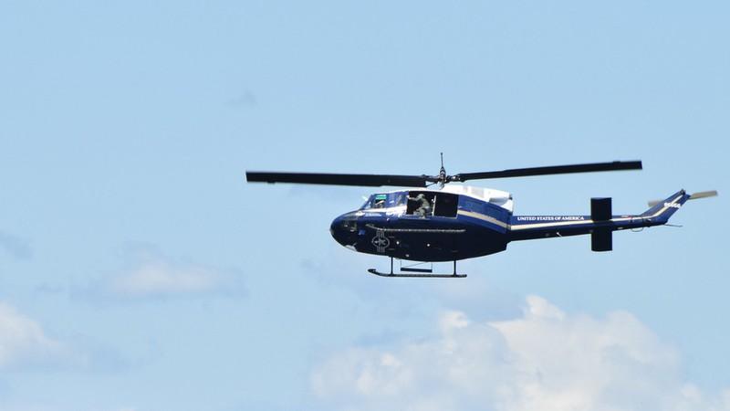 Trực thăng Mỹ trúng đạn buộc hạ cánh khẩn, 1 người bị thương - ảnh 1