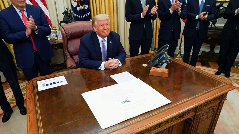 Israel-UAE ký thỏa thuận bình thường quan hệ, nhờ ông Trump - ảnh 1