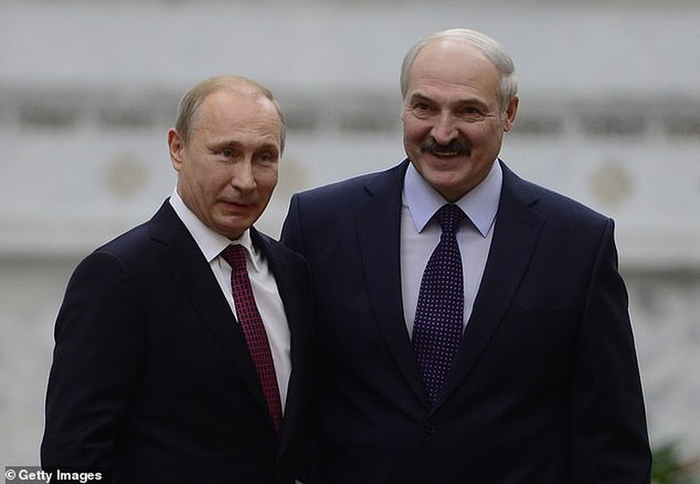 Ông Putin cảnh cáo phương Tây  không can thiệp vào Belarus - ảnh 2
