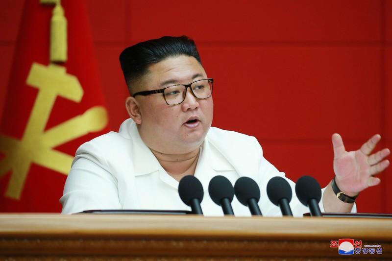 Rộ tin đồn ông Kim Jong-un bị hôn mê - ảnh 1