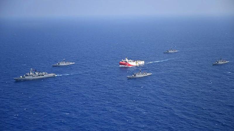 Hy Lạp -Thổ Nhĩ Kỳ căng thẳng, Đức cảnh báo hậu quả lớn - ảnh 1
