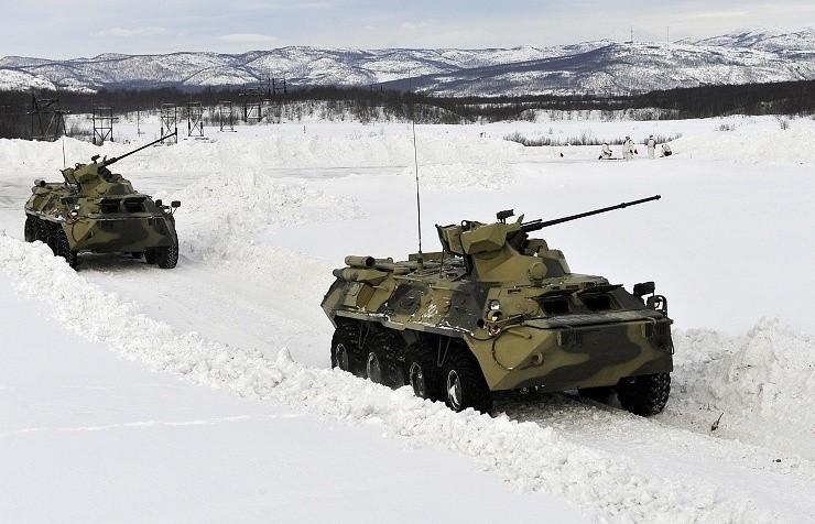 Nga sắp cung cấp xe bọc thép, trực thăng tấn công cho Belarus - ảnh 1