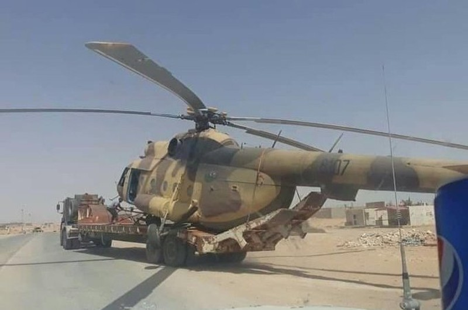 Quân đội Libya thu giữ trực thăng của phe ông Haftar  - ảnh 1