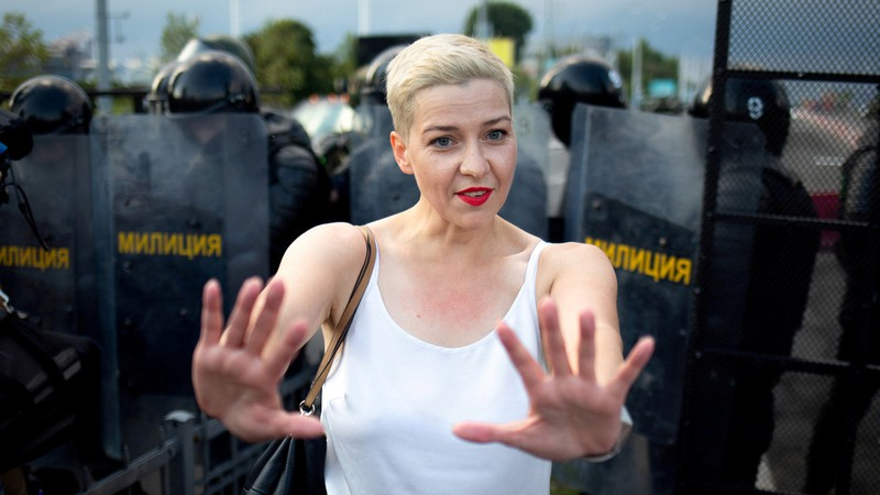 Nhân vật đối lập Belarus nguy cơ đối mặt 5 năm tù - ảnh 1