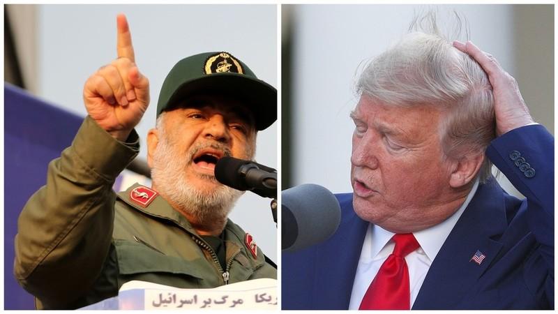 Tehran dọa trả đũa ông Trump nếu người Iran mất một cọng tóc - ảnh 1