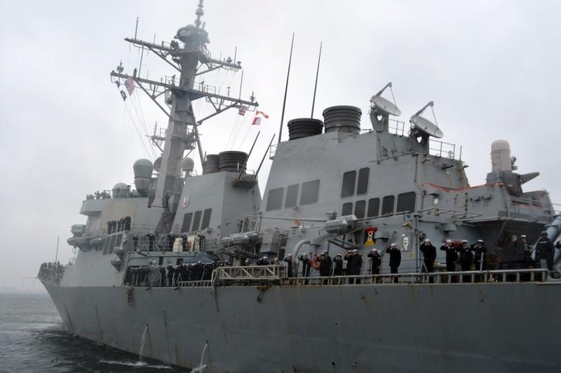 Mỹ lại điều tàu chiến đi qua eo biển Đài Loan - ảnh 1