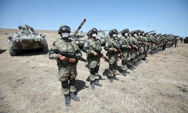 Thổ Nhĩ Kỳ sẵn sàng điều binh sĩ giúp Azerbaijan chống Armenia - ảnh 1