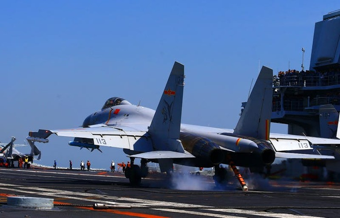 'Tàu sân bay Trung Quốc không thể dọa tàu sân bay Mỹ' - ảnh 4