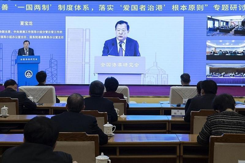 Trung Quốc lên kế hoạch để 'người yêu nước' lãnh đạo Hong Kong - ảnh 1