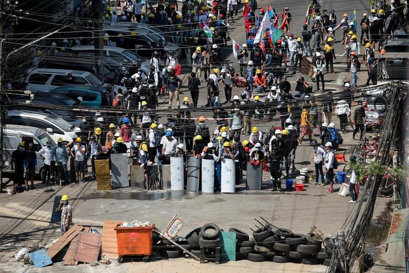 LHQ yêu cầu quân đội Myanmar 'ngừng sát hại' người biểu tình - ảnh 2