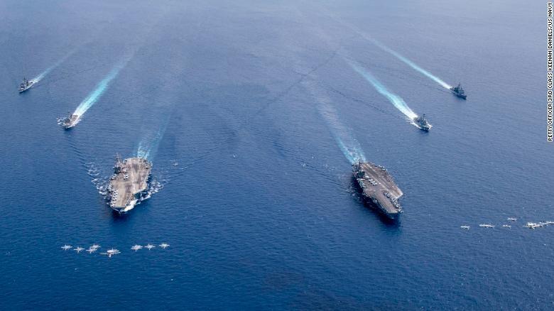 Đưa tàu sân bay rời châu Á, Mỹ đối phó Trung Quốc thế nào? - ảnh 2