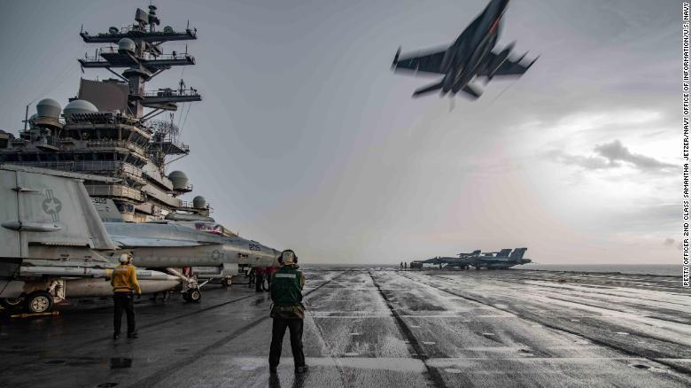 Đưa tàu sân bay rời châu Á, Mỹ đối phó Trung Quốc thế nào? - ảnh 1