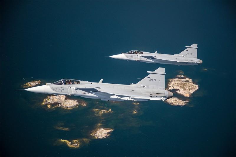 Là đối thủ đáng gờm của F-35 nhưng điều gì khiến Saab Gripen thua về doanh số? - ảnh 2