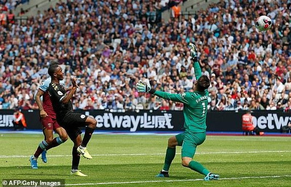 Sterling lập hat trick, Man. City thắng tưng bừng West Ham - ảnh 5