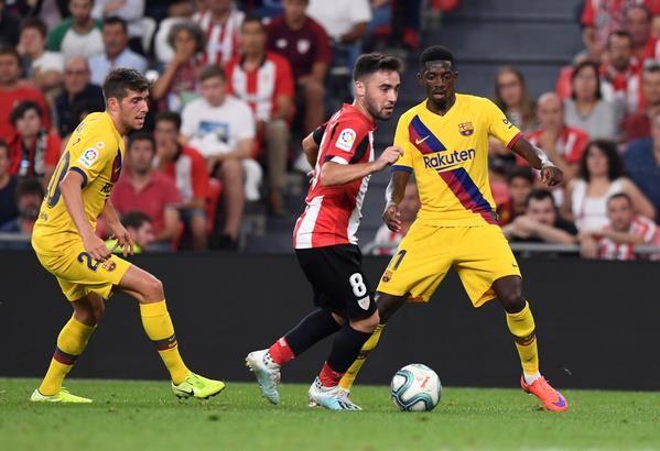 Không Messi, Barca thua sốc Bilbao ngay trận khai mạc La Liga - ảnh 1