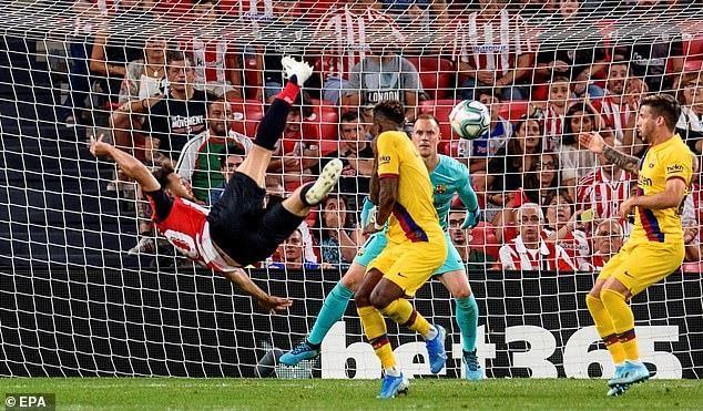 Không Messi, Barca thua sốc Bilbao ngay trận khai mạc La Liga - ảnh 6