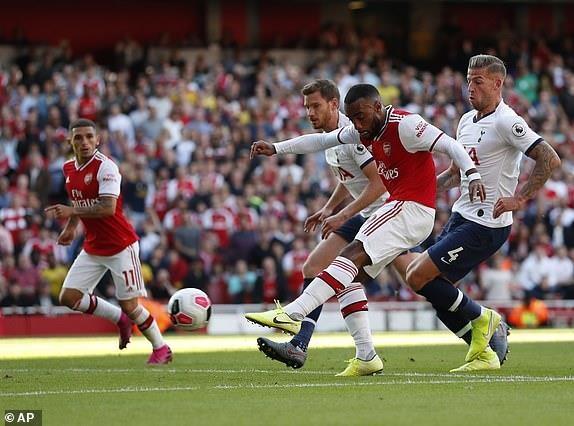 Rượt đuổi tỷ số, Arsenal hòa kịch tính Tottenham tại Emirates - ảnh 5