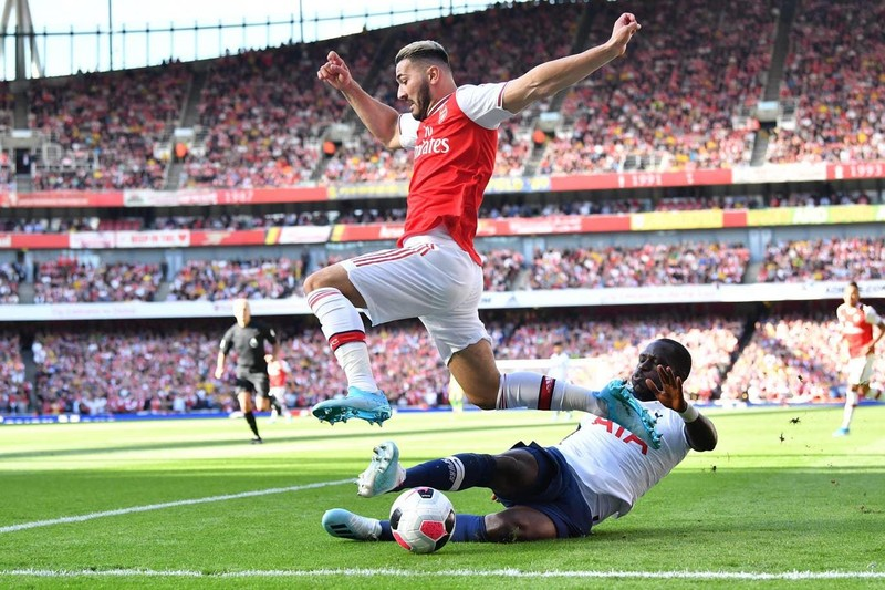 Rượt đuổi tỷ số, Arsenal hòa kịch tính Tottenham tại Emirates - ảnh 1